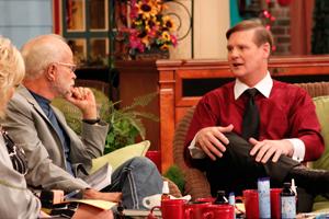 Pastor Jim Bakker with Dr. Gordon Pedersen